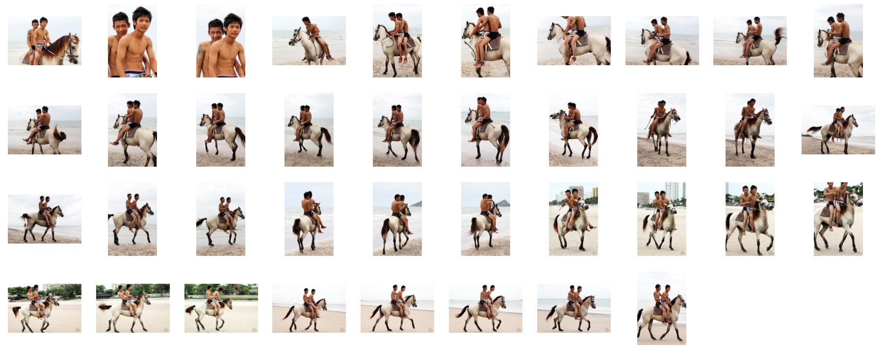 David and Thaksin in Shorts Riding Double with Saddle on Buckskin Horse, Part 7 - Riding.Vision