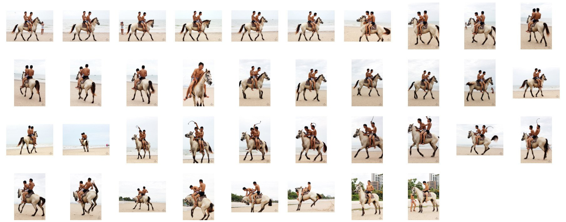 David and Thaksin in Shorts Riding Double with Saddle on Buckskin Horse, Part 8 - Riding.Vision