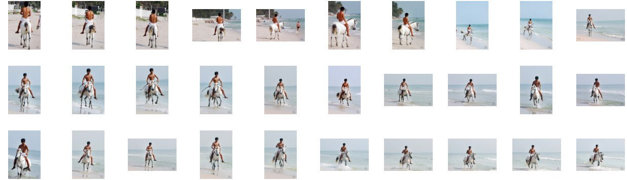 David in White Spandex Shorts Riding Bareback on White Pony, Part 9 - Riding.Vision