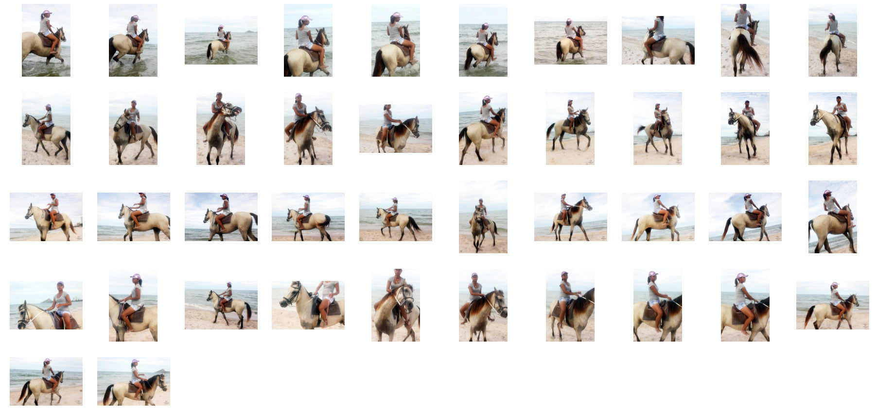 Titaporn Riding with Saddle on Buckskin Horse, Part 9 - Riding.Vision