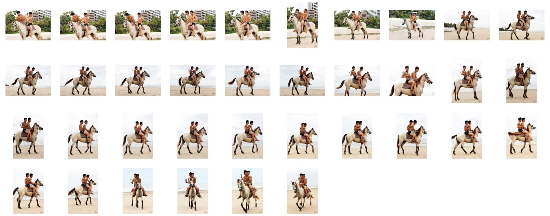 David and Thaksin in Shorts Riding Double with Saddle on Buckskin Horse, Part 9 - Riding.Vision