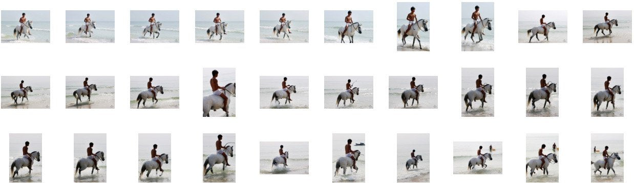David in White Spandex Shorts Riding Bareback on White Pony, Part 10 - Riding.Vision