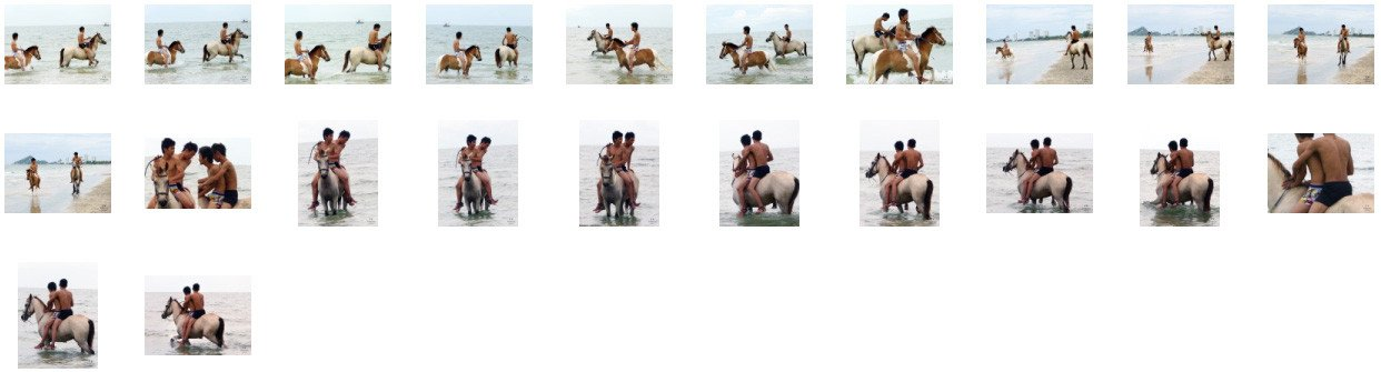 David and Thaksin in Shorts Riding Bareback and Double on Buckskin Horse, Part 1 - Riding.Vision