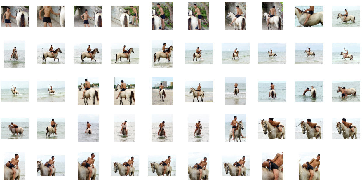 Thaksin in Black Spandex Riding Bareback on Buckskin Horse, Part 1 - Riding.Vision