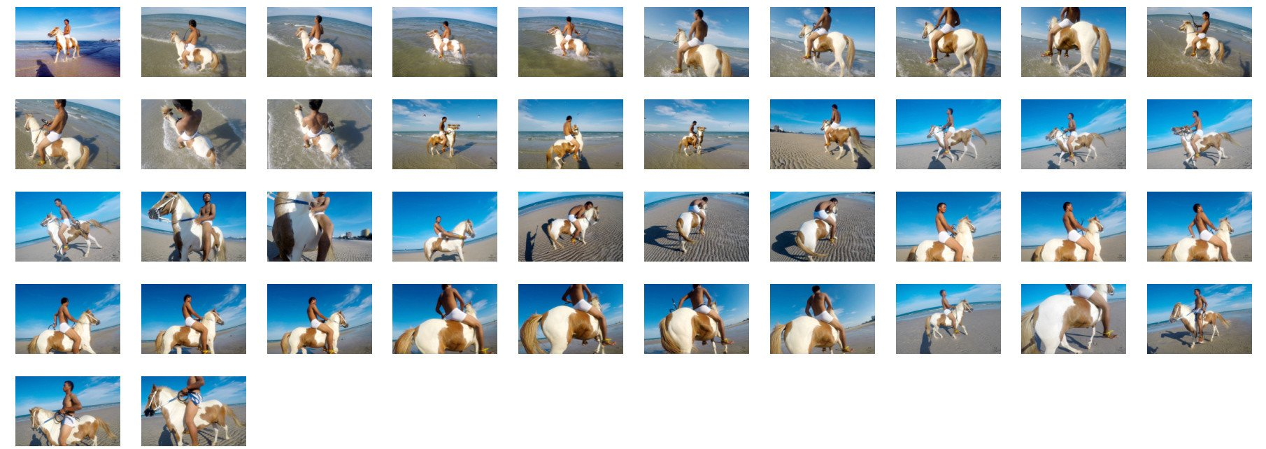 Chai S1 Riding in White Speedos on Pony, Part 1 - Riding.Vision