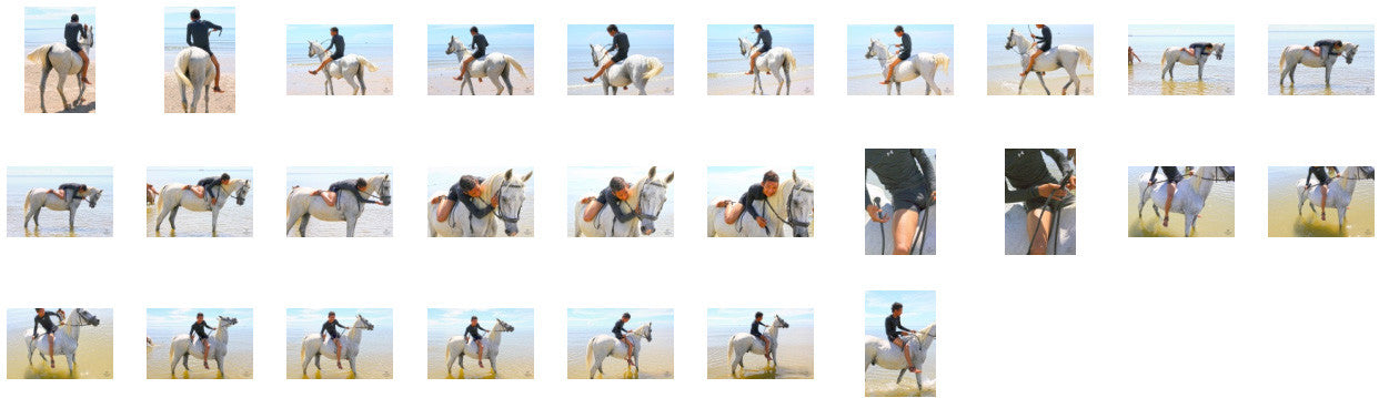 Thaksin in Black Spandex Riding Bareback on White Arabian, Part 1 - Riding.Vision