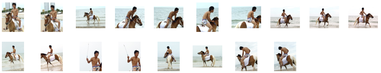 David in Funny Shorts Riding with Saddle on Brown-White Pony, Part 1