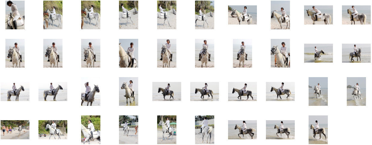 KaZaa in Ridingboots Riding with Saddle on White Arabian, Part 1 - Riding.Vision
