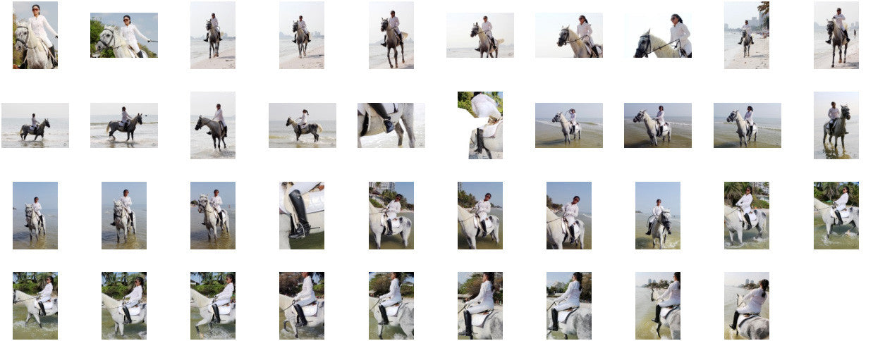 KaZaa in Ridingboots Riding with Saddle on White Arabian, Part 2 - Riding.Vision