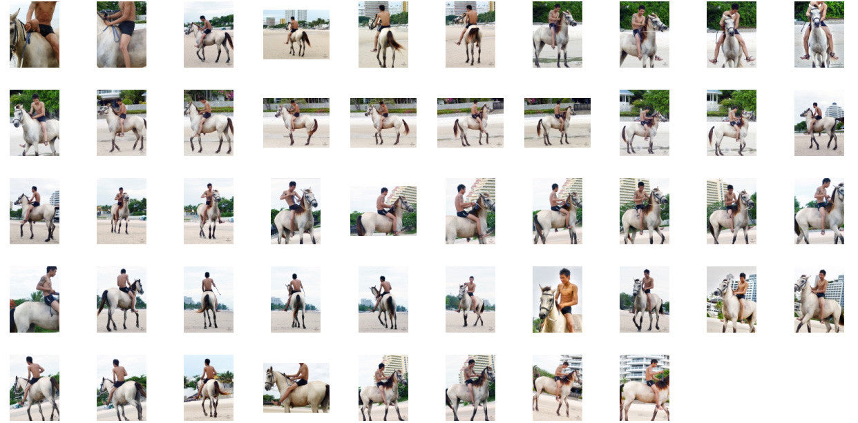 Thaksin in Black Spandex Riding Bareback on Buckskin Horse, Part 2 - Riding.Vision