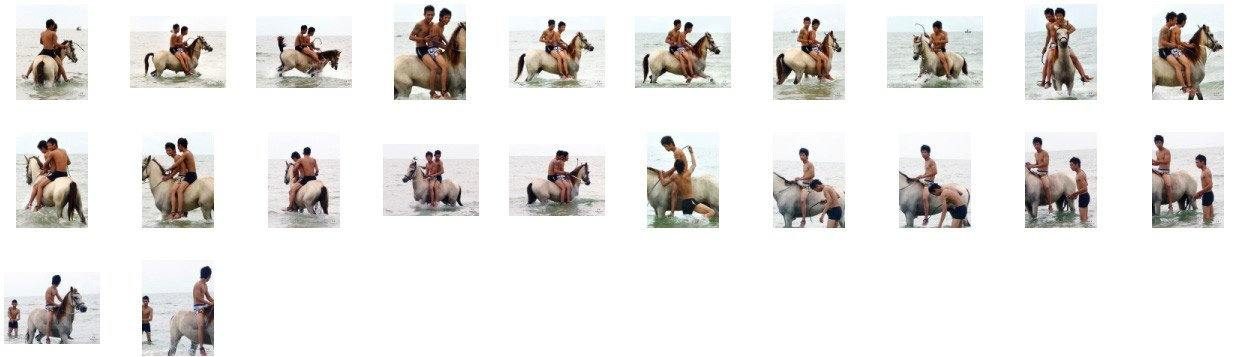 David and Thaksin in Shorts Riding Bareback and Double on Buckskin Horse, Part 2 - Riding.Vision