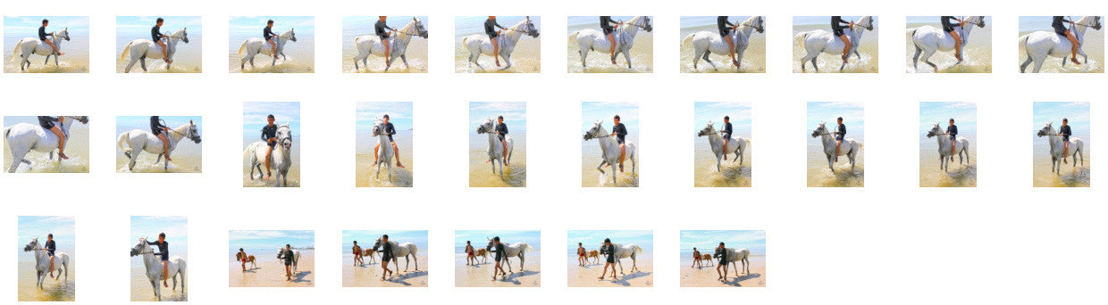 Thaksin in Black Spandex Riding Bareback on White Arabian, Part 2 - Riding.Vision