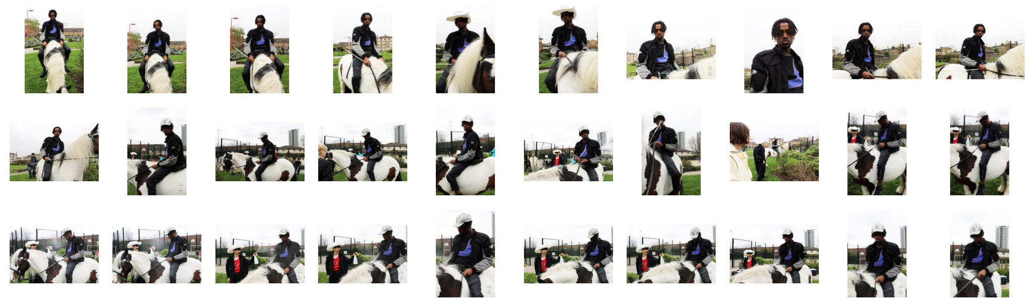 Jahsiri on Draft Horse, Part 2 (in collab. with The Lover, London) - Riding.Vision