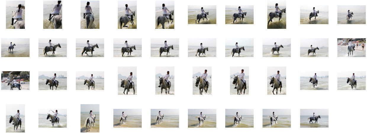KaZaa in Ridingboots Riding with Saddle on White Arabian, Part 3 - Riding.Vision