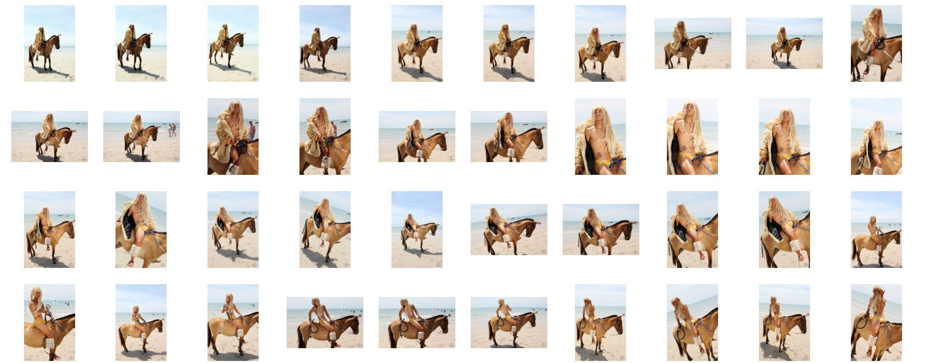 David in Fur Coat Riding Bareback on Golden Pony, Part 3 - Riding.Vision