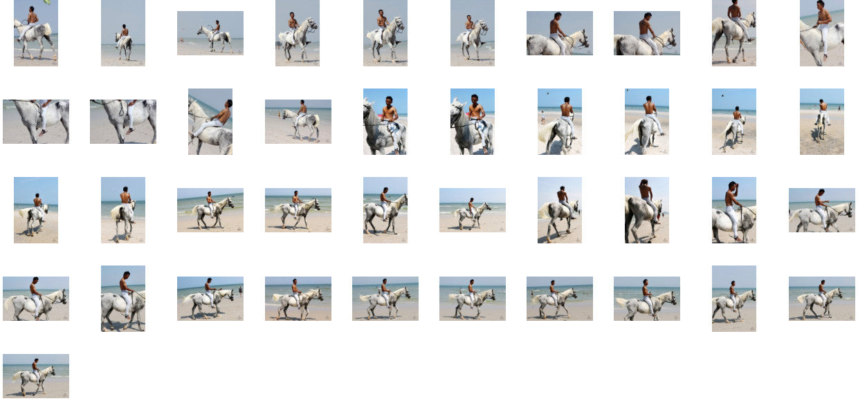 Kai in Jodhpurs Riding Bareback on White Arabian, Part 4 - Riding.Vision