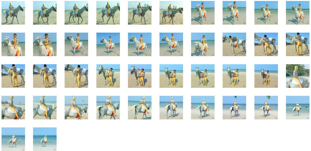 Golden Zentai in Short Jacket Riding with Pad on White Arabian, Part 5 - Riding.Vision