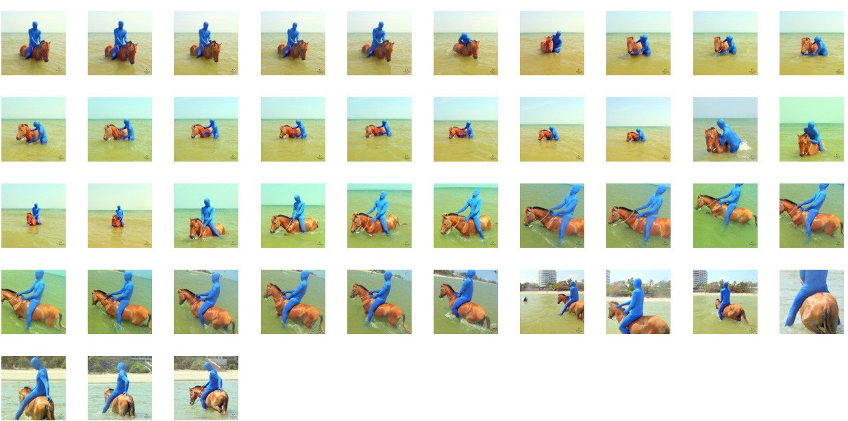 Blue Zentai Riding Bareback on Golden Pony, Part 5 - Riding.Vision