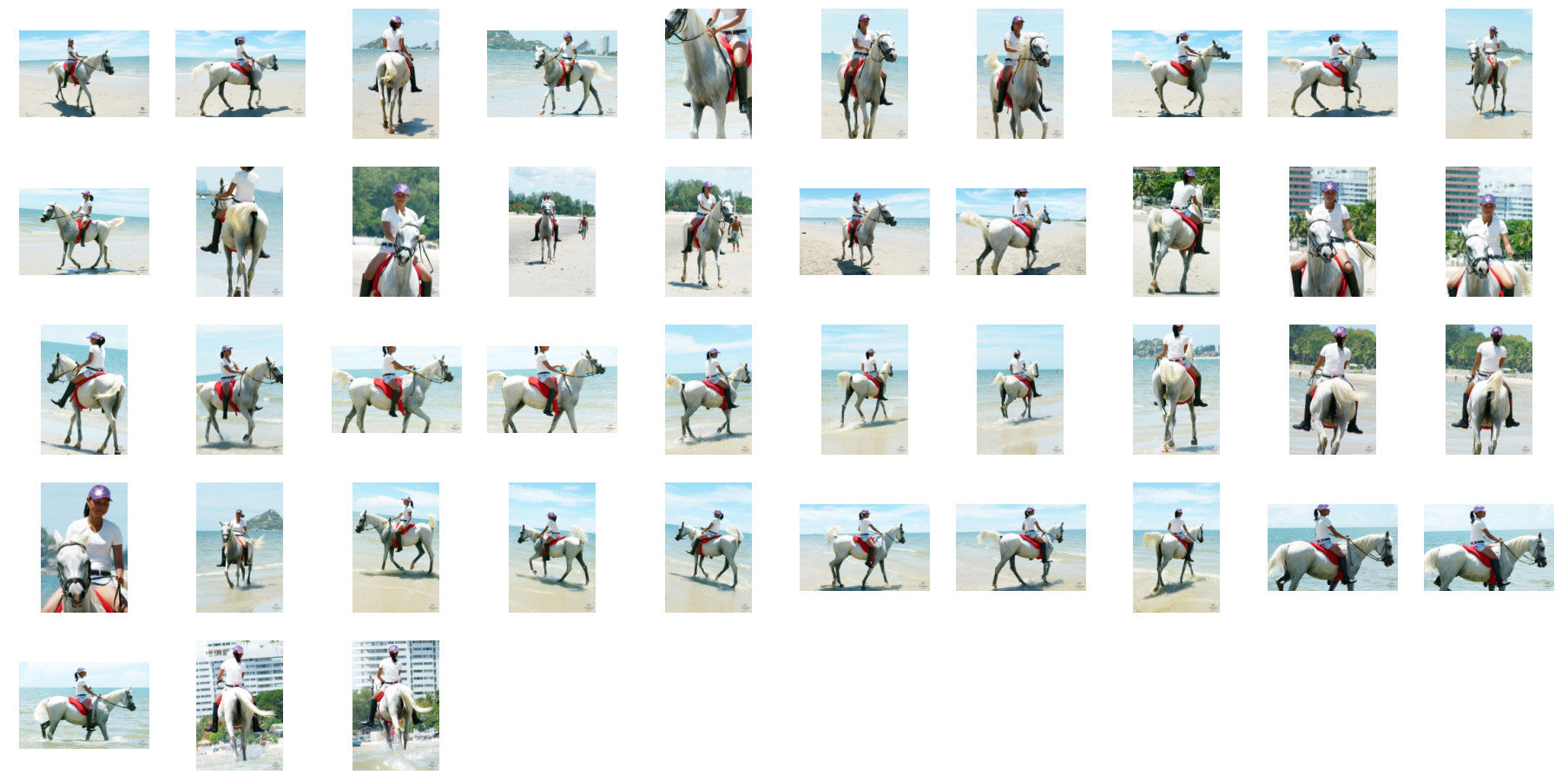 Titaporn in Hotpants and Ridingboots Riding Bareback on Arabian Horse, Part 5 - Riding.Vision
