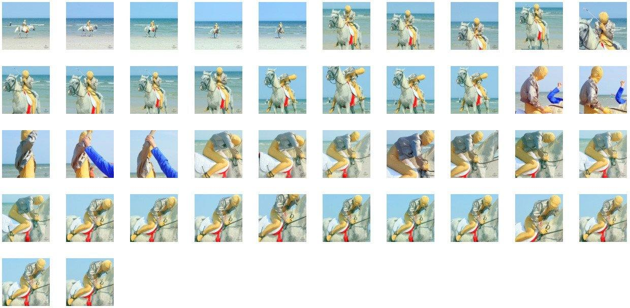 Golden Zentai in Short Jacket Riding with Pad on White Arabian, Part 6 - Riding.Vision