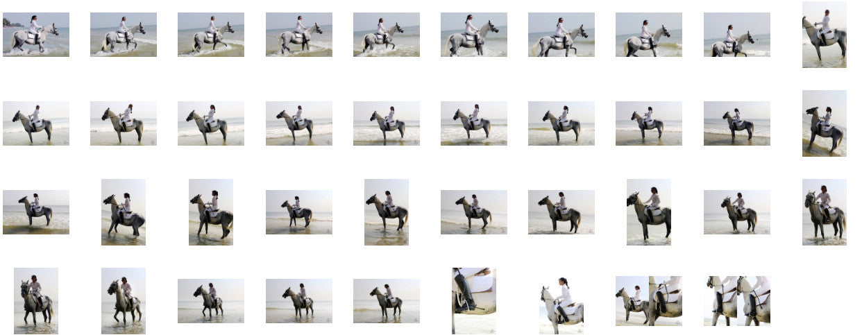 KaZaa in Ridingboots Riding with Saddle on White Arabian, Part 6 - Riding.Vision