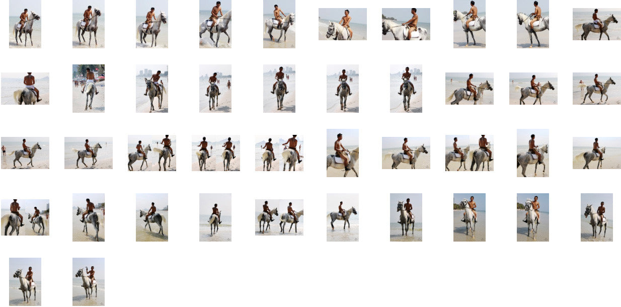 Kai in Brown Sprinter Shorts Riding with Saddle on White Arabian, Part 6 - Riding.Vision