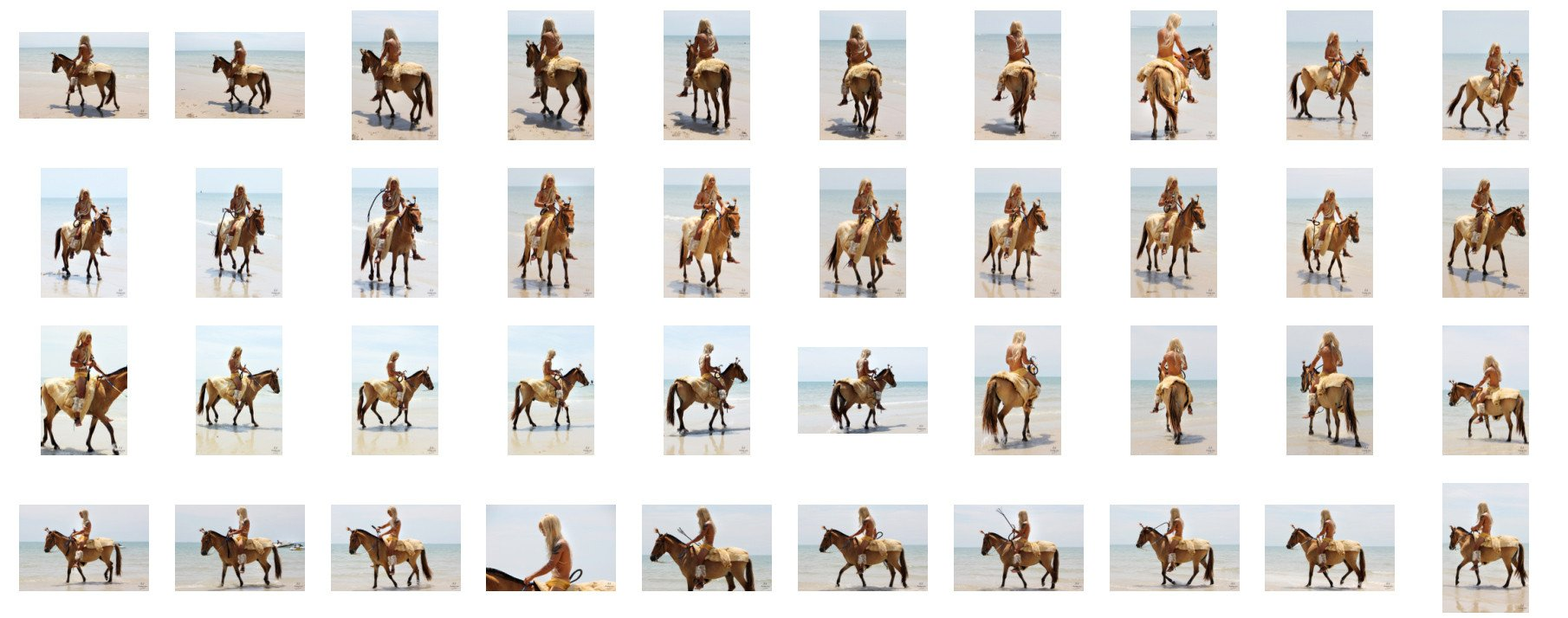 David in Fur Coat Riding Bareback on Golden Pony, Part 6 - Riding.Vision