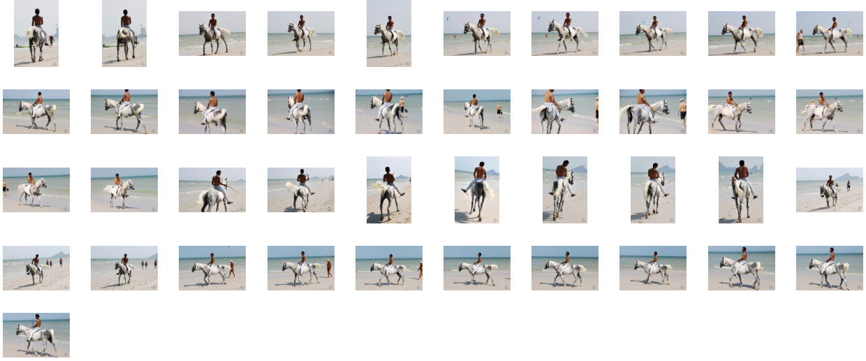 Kai in Jodhpurs Riding Bareback on White Arabian, Part 7 - Riding.Vision