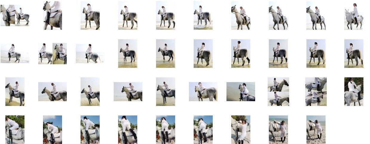 KaZaa in Ridingboots Riding with Saddle on White Arabian, Part 7 - Riding.Vision
