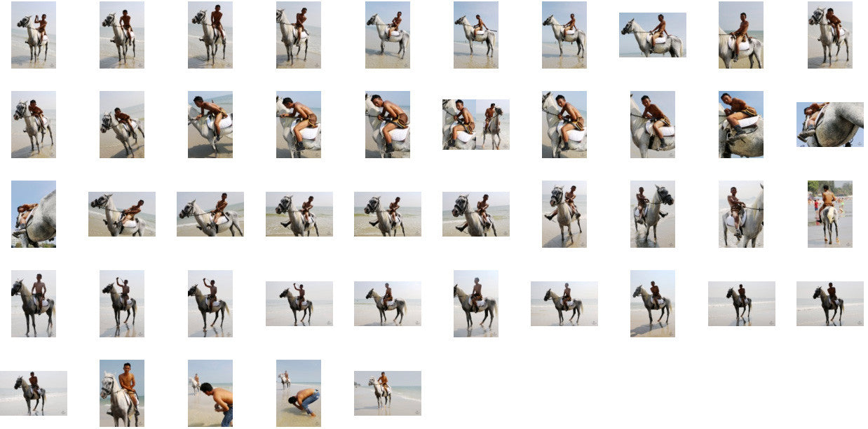 Kai in Brown Sprinter Shorts Riding with Saddle on White Arabian, Part 7 - Riding.Vision