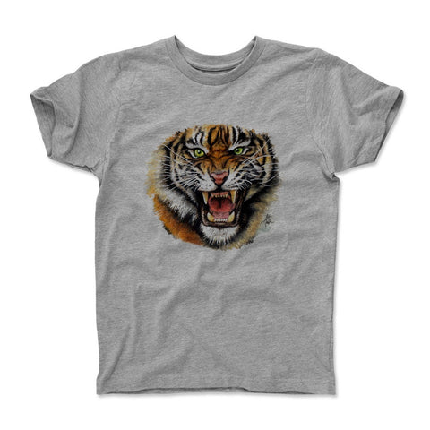 Kids T-Shirt Heather Gray