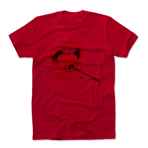 Mens Cotton T-Shirt Red