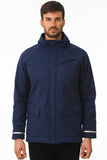 Navy Waterproof Cycling Commuter Jacket Reflective