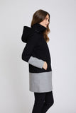 Kendra Waterproof Wool Coat