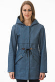 Lightweight Blue Denim Waterproof Jacket