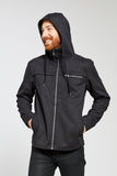 One Man Tacoma Performance Sueded Cotton Rain Jacket