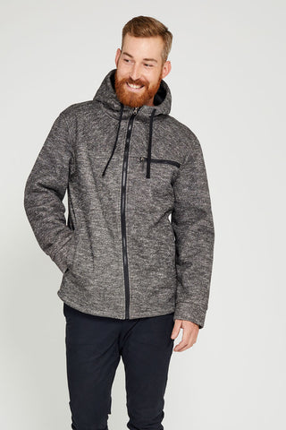 One Man Tacoma Waterproof Sweater Knit Hoodie