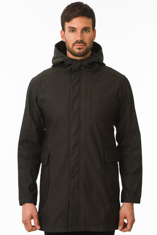 Black Modern Urban Waterproof Jacket