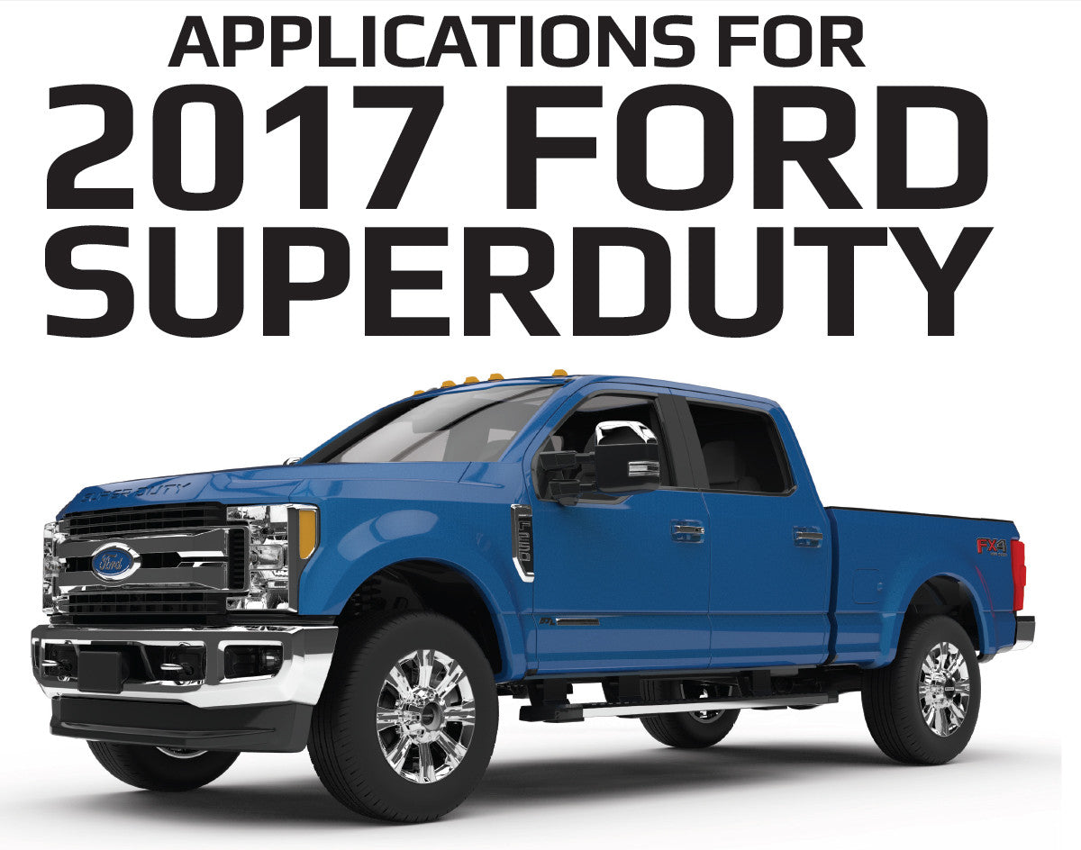 2017 Ford F-350, F-450, F-550 Super Duty BAK Industries Tonneau Covers Available