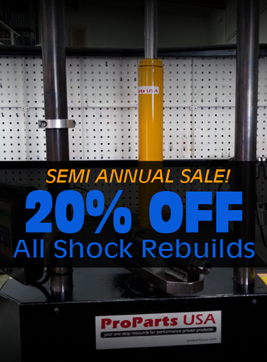 Semi Annual Shock Services Sale!