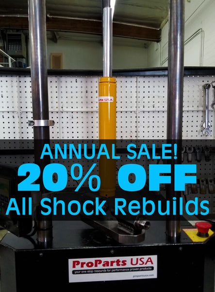 ProParts USA Annual Shock Services Promo!