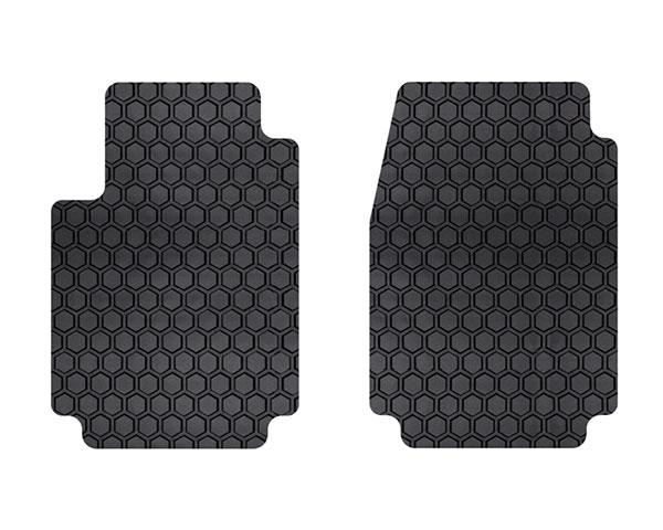 Intro-Tech Hexomat All Weather 2 Piece Front Floor Mat for 1993-1997 Chrysler Concorde [Sedan] - CH-115F - (1997 1996 1995 1994 1993)