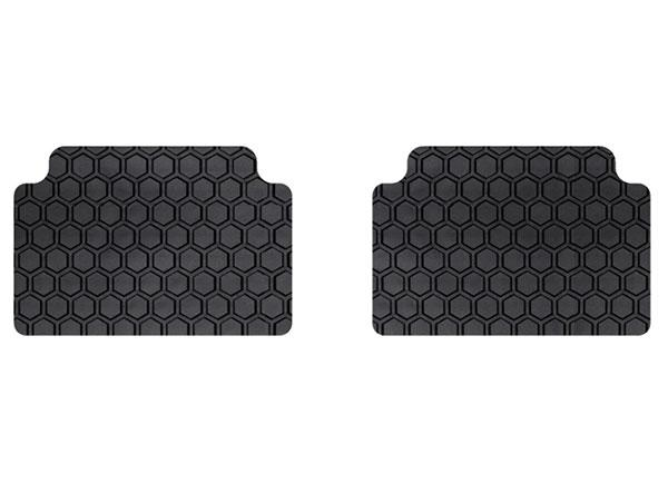 Intro-Tech Hexomat All Weather 2 Piece Rear Floor Mat for 2017-2017 Cadillac XT5 [gm clips] - CA-250R - (2017)