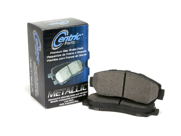 Centric Parts Front Premium Metallic Brake Pads for 1968-1969 Chevrolet CAMARO [ Rear Disc Brakes;] - 300.00080 - (1969 1968)