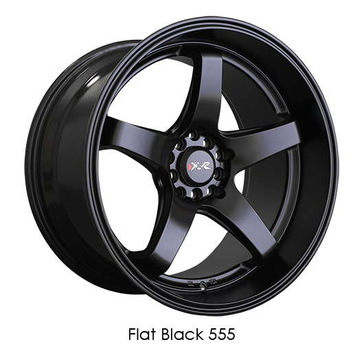 XXR 555 Flat Black Wheels For 2013-2019 ACURA RDX