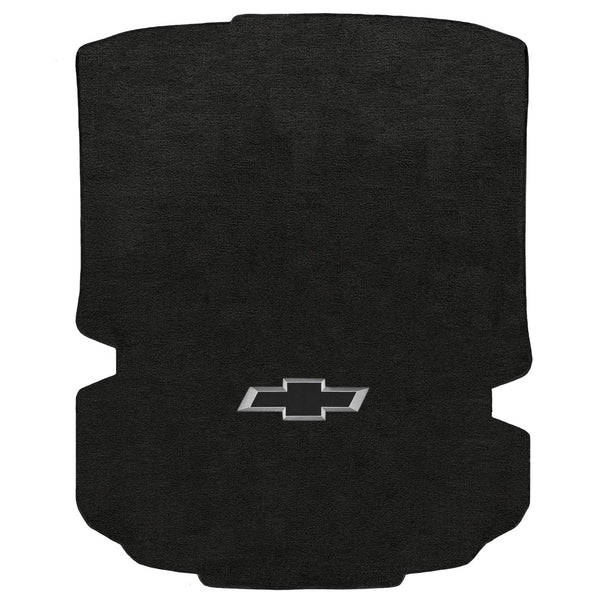 Lloyd Mat's CHEVROLET CAMARO 2016-2017 COUPE Trunk Floor Mats EBONY VELOURTEX BLACK 3D BOWTIE - 620155 - (2017 2016)