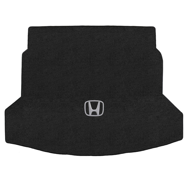 Lloyd Mat's HONDA CR-V 2012-2017 Trunk Floor Mats EBONY VELOURTEX with H SILVER LOGO  - 620168 - (2017 2016 2015 2014 2013 2012)