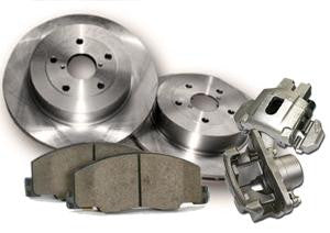 Team Integra Brake Upgrade Kit for Acura 1994-2001 with Centric C-tek Rotors and Low Dust Brake Pads - Rear - (2001 2000 1999 1998 1997 1996 1995 1994)