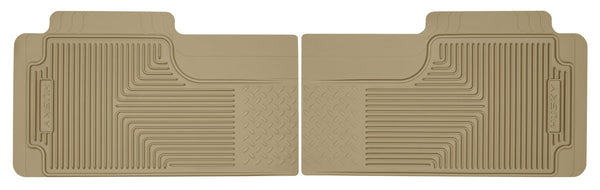 Husky Liners Heavy Duty 2nd Or 3rd Seat Rear Floor Mats for 1980-1986 Chevrolet K10 Suburban - 52013 [1986 1985 1984 1983 1982 1981 1980]