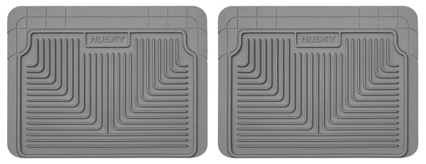 Husky Liners Heavy Duty 2nd Or 3rd Seat Rear Floor Mats for 1980-1996 Cadillac Fleetwood - 52022 [1996 1995 1994 1993 1992 1991 1990 1989 1988 1987 1986 1985 1984 1983 1982 1981 1980]